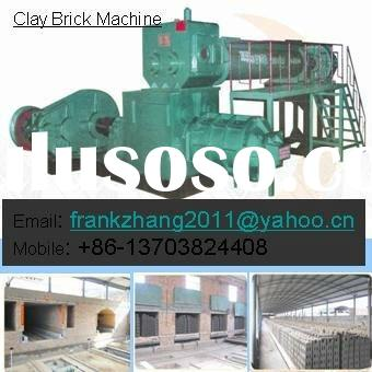 Clay Brick Making Machine / Clay Brick Machine / Vaccum Extruder with Tunnel Kiln