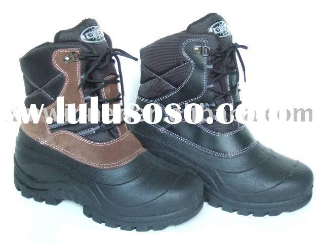 Comfortable men's snow boots