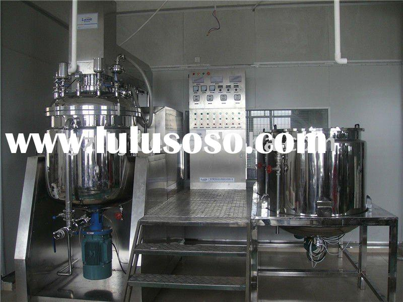 Cosmetic making machine ( For hair color dye cream,shaving cream,body lotion,facial cream ,ointment)