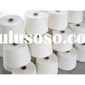 Cotton Polyester Blended Carded Yarn (21s),knitting yarn,cotton polyester yarn
