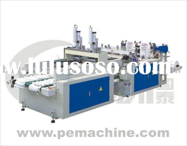 DFHQ-350X2/450X2 Full Automatic High Speed T-shirt Bag Making Machine