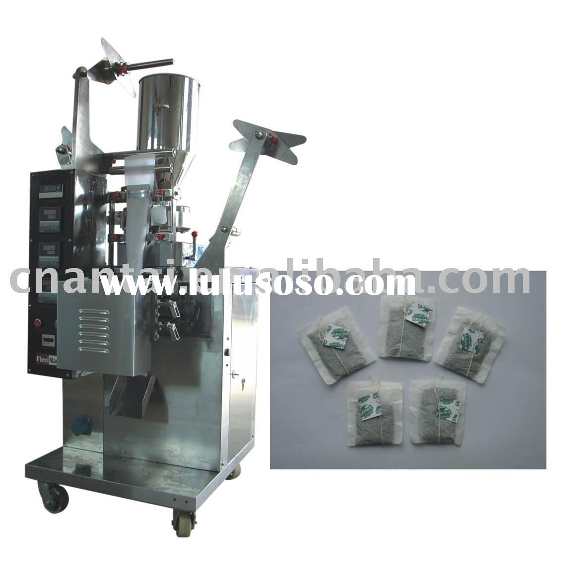 DXD.C-10 Tea-bag packing machine with thread and tag