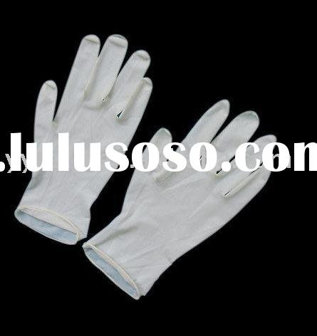 Disposable Latex Examination Gloves/aql4.0