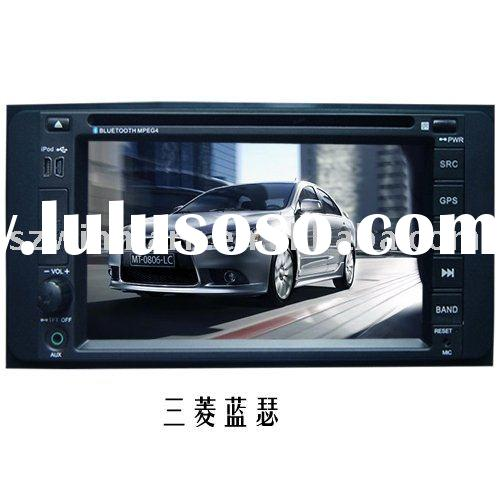 Double Din digital touch screen car audio / in dash Car DVD Player for Mitsubishi-Lancer