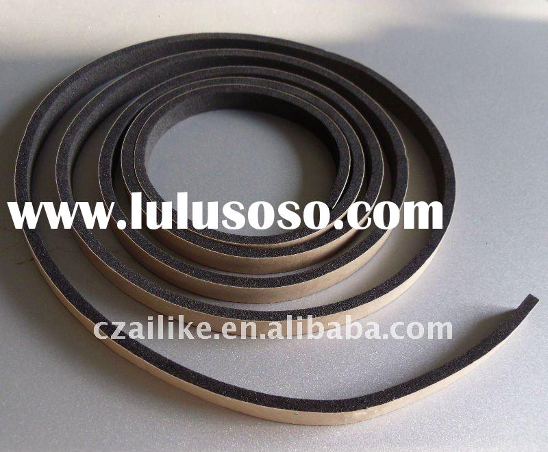 EPDM adhesive backed rubber strips
