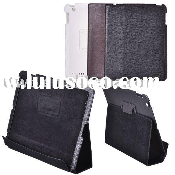 Easy to carry The hotest Slim Leather Case for ipad 2