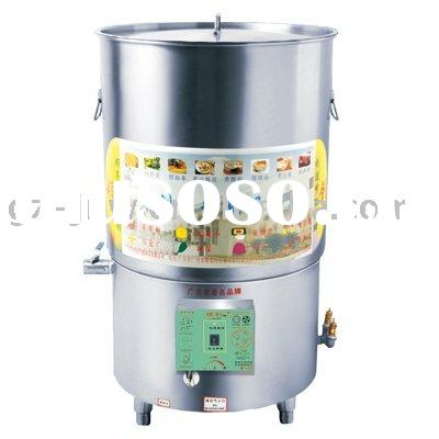 Energy saving gas steam non stick soup pot LC-DTCL-60*80 for restaurant passed ISO9001