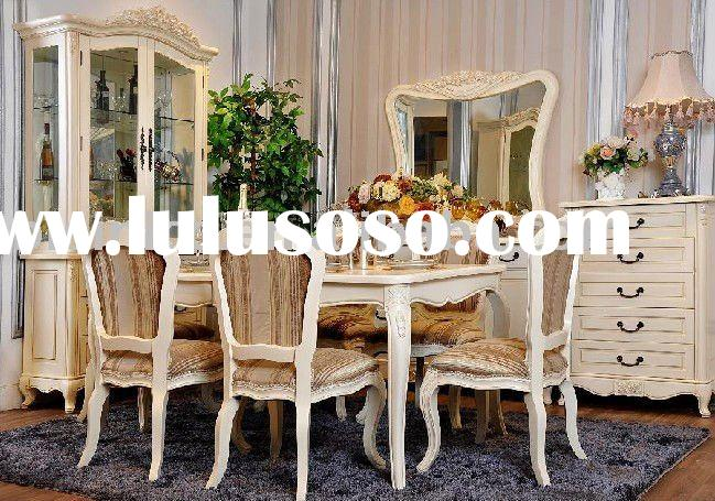 English style dining room set | Luxury dining room furniture | Country style home furniture | villa