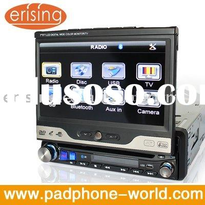 Erisin 7 inch in dash 1 din car dvd player TV Raido BT USB Touchscreen RDS