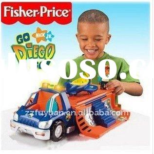 FISHER PRICE DIEGO JUNGLE RESCUE CAR TOY