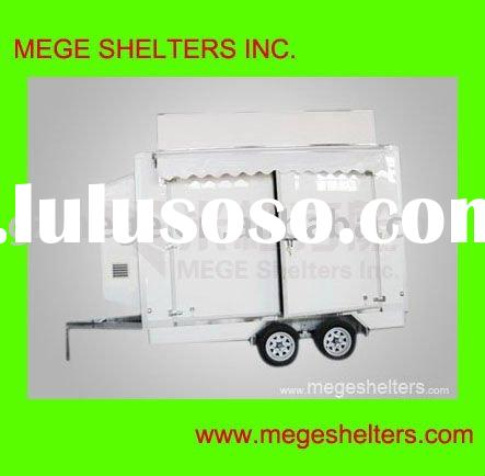 Fiberglass Show Car Trailer body for ATM Machine