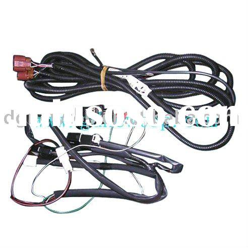 Wiring Harness on Fog Light Wiring Harness With Switch Kts  Fog Lamp Wire Harness Fit