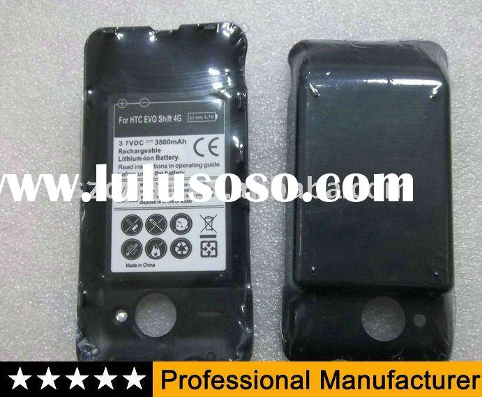 For Sprint HTC EVO Shift 4G Extended battery with door cover 3500mAh