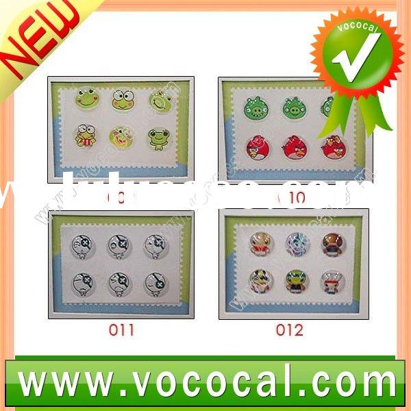 For iPhone 4 Button Sticker Cute Design