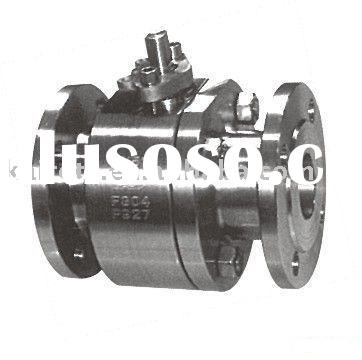 Forged steel floating ball valve (Forging steel, 2pc body, Flange end, CLASS 150/300)