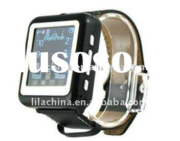 "Free shipping Aoke 09 AK09 Watch Mobile Phone With Bluetooth + FM + 1.3"" full touch screen + Ca"