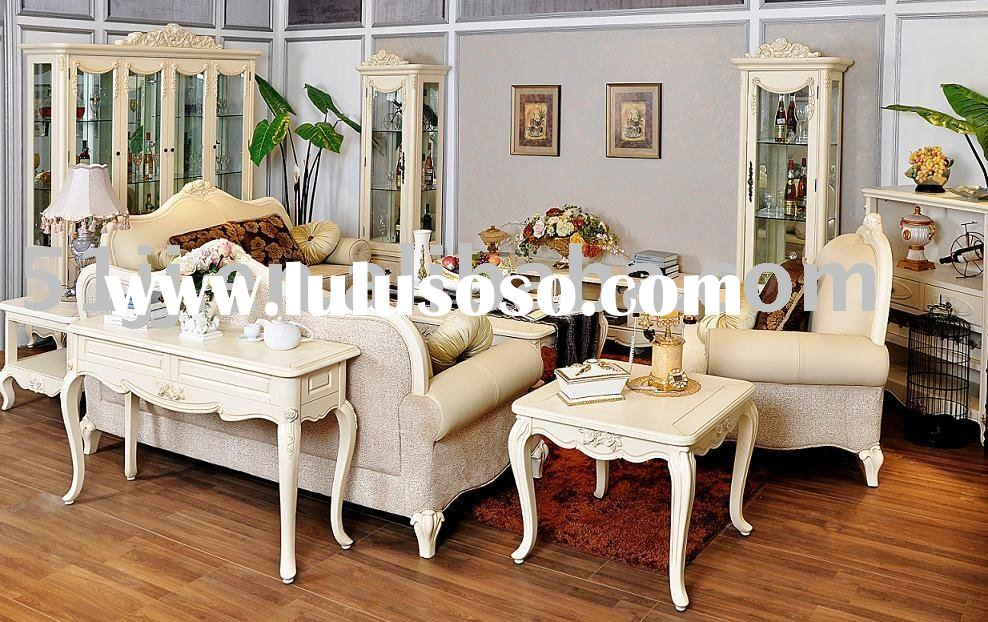 French country style Solid Wood Living room Furniture A102
