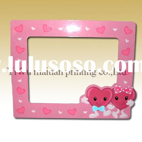 Fridge magnet photo frame