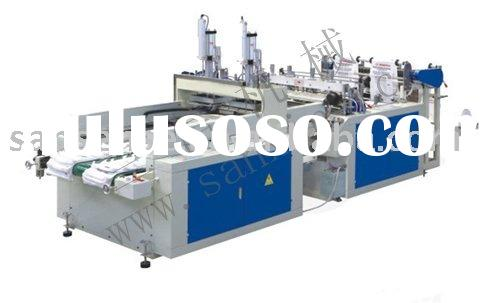 Full automatic high-speed T shirt bag making machine