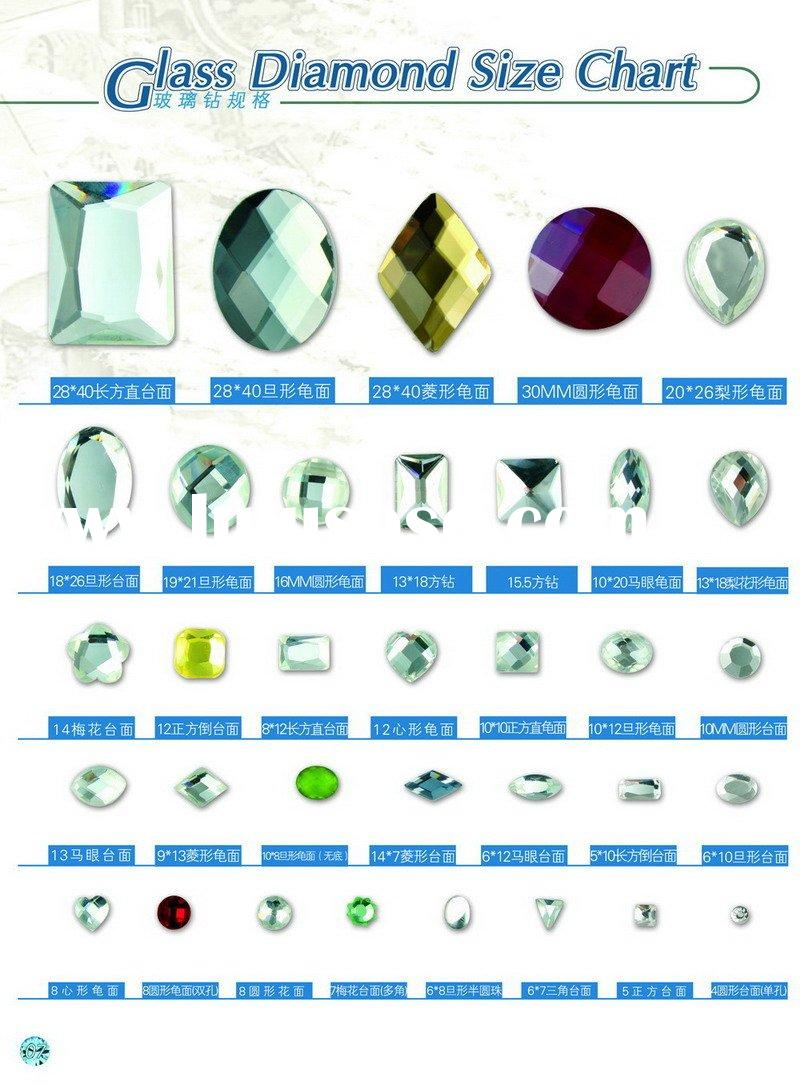 Glass Diamond (size chart )