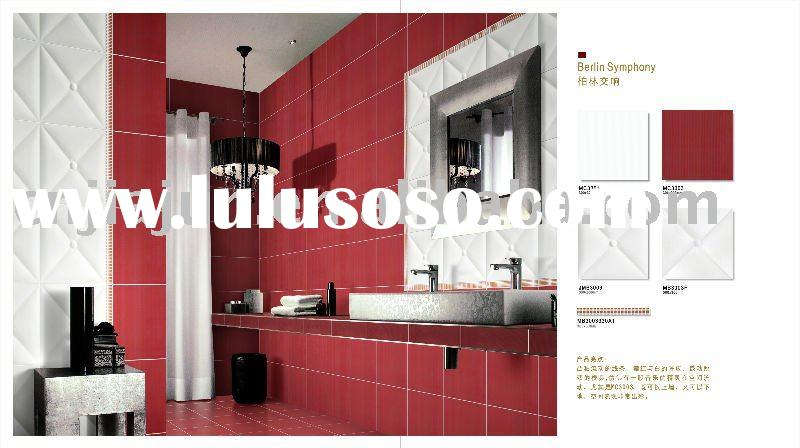 Glazed wall tile, tile, bathroom ceramic tile