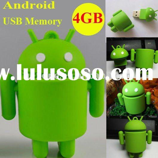 Google Android Robot USB Flash Drive,novelty shape usb flash drive,android usb 2.0 flash drive