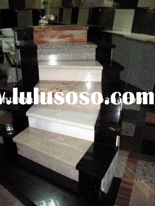 Granite and marble stone step