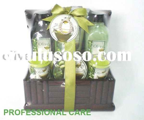 Green Series body gift set/bath product/spa bath set