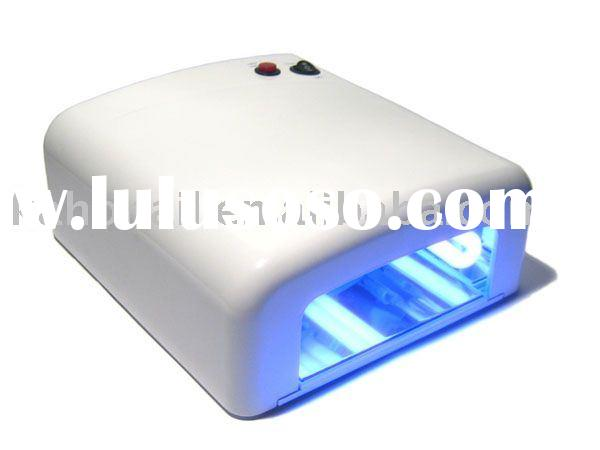 HOT 36w UV GEL NAIL DRYER CURING LAMP + 4x9w LIGHT BULB