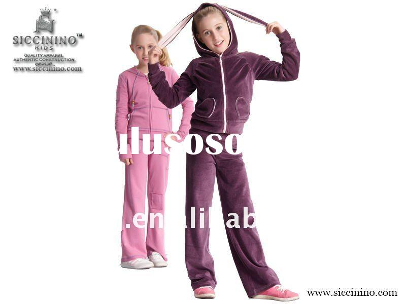 HOT sale kids clothing sets in hoodies wear
