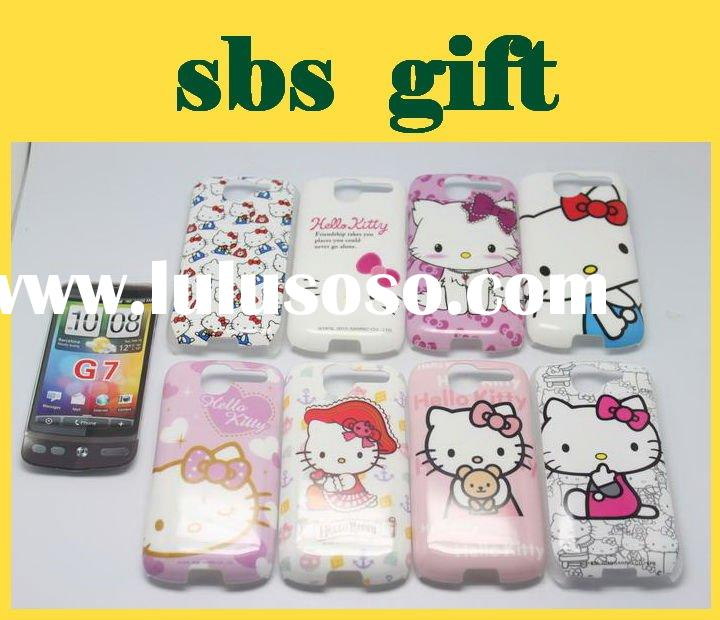 Hello kitty plastic case for HTC G7 cover,phone case