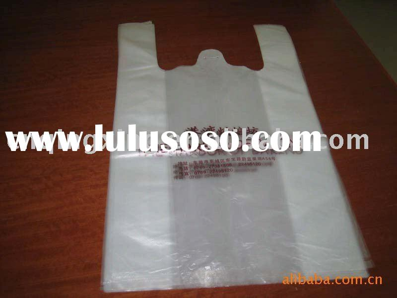 Hit in 2012!!T-shirt bag for supermarket!!shopping T-shirt bag!!plastic shopping bag!