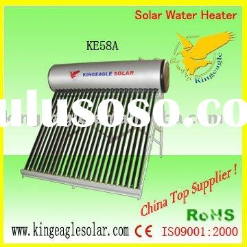 Home use thermosyphon compact solar water heater