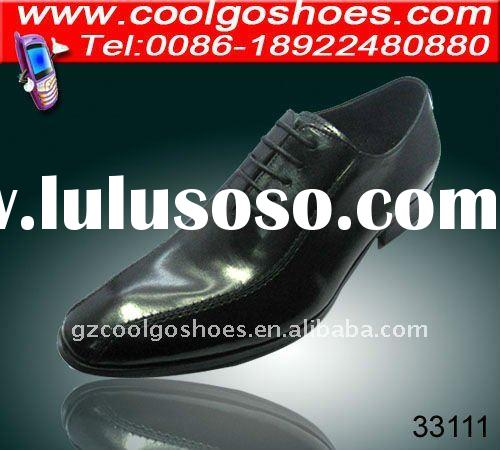 Hot design pointed toe shoes for men with leather upper durable outsole