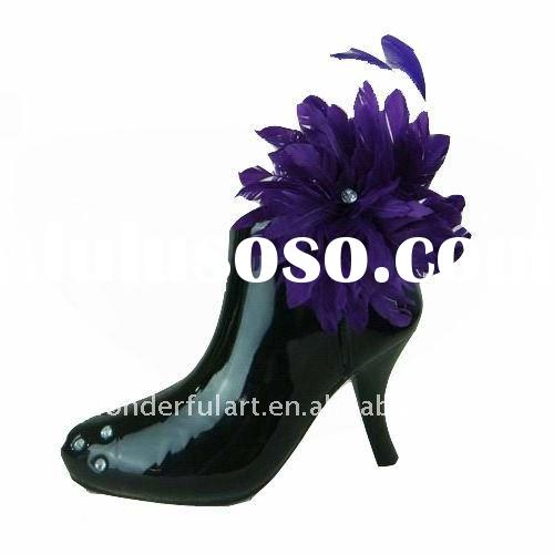 Hot-sale fashion high heels shoes vase for mother's day
