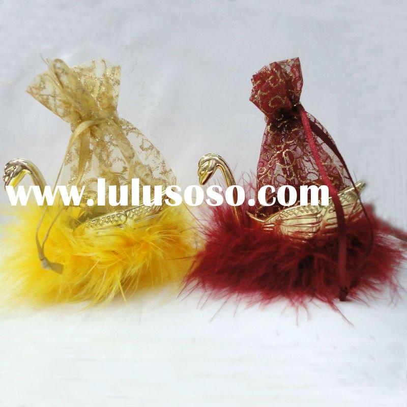 Hot selling Party favors, swan gift bag, baby shower