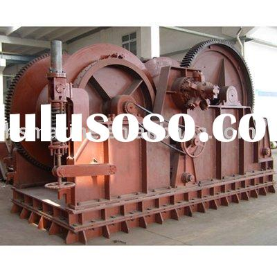 Hydraulic Waterfall Double Drum Mooring Winch