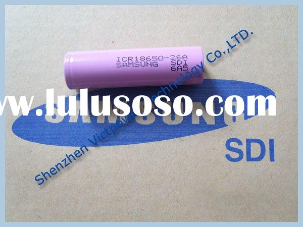 ICR 18650 Lithium-ion SAMSUNG Rechargeable Battery Cell,2.6Ah,3.7V
