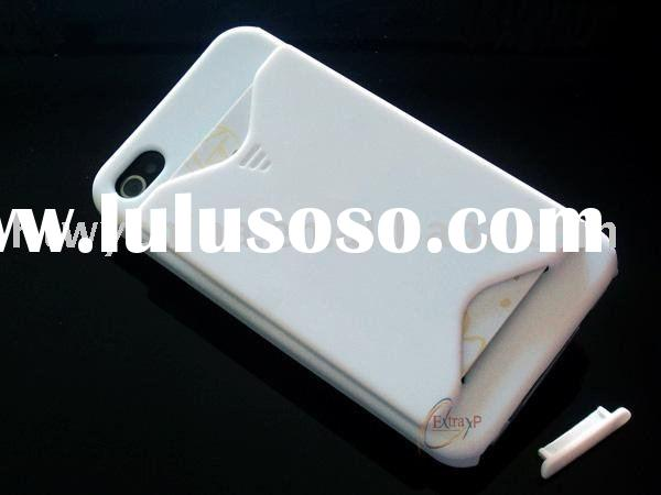 ID Credit Card Holder cover case for iPhone 4 4G OS
