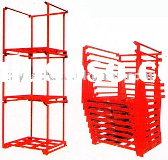 ISO9001&TUV stackable steel storage racks/shelving