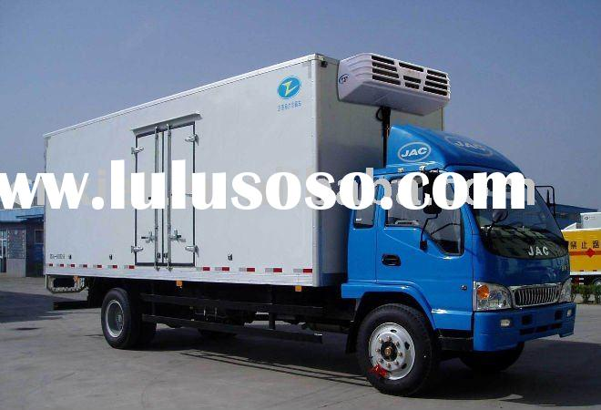 JMC Freezer food transport GRP Refrigerated box Truck