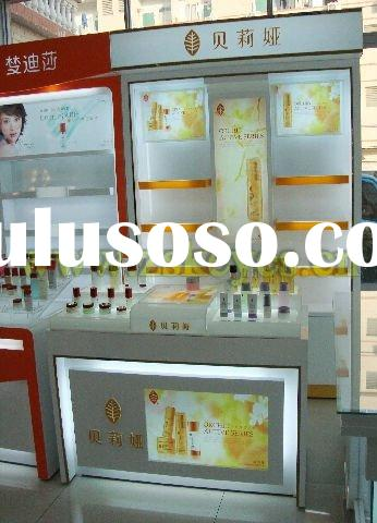 Kiosk Acrylic Makeup Display Craft, Display Rack