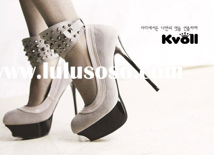 Korea kvoll shoes 2011 newest fashion high heel shoes party shoes