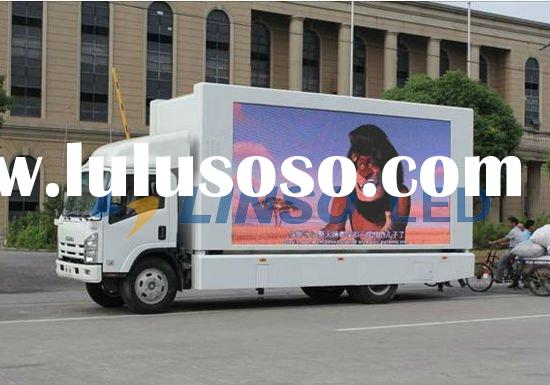 Led Display Vehicle, Truck mounted LED display,Outdoor advertising display