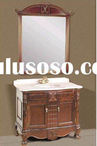MFC baths furniture, European style bath room cabinet Melamine bathroom cabinets