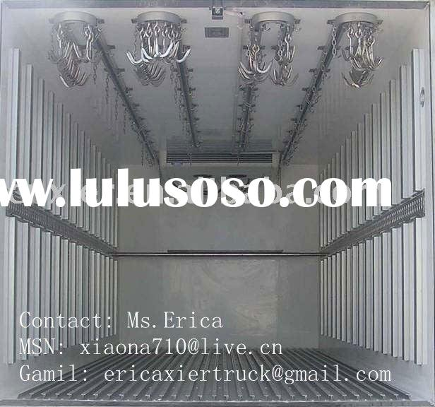 Meat Transportantion Refrigerated Van Truck/Reefer transport van box trucks/refrigerator truck/freez