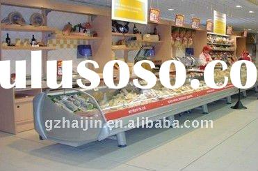 Meat display refrigerator/commercial freezer