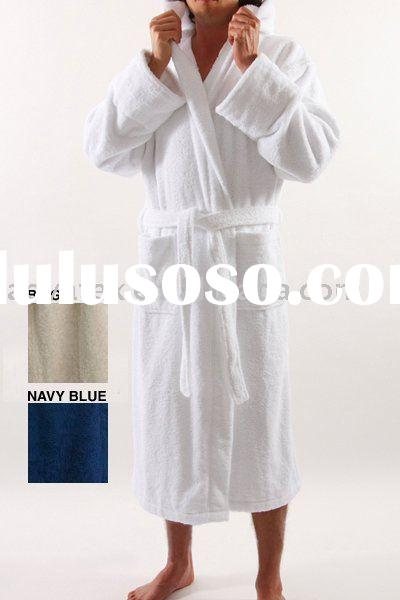 lulusoso.comMen s terry bathrobe with