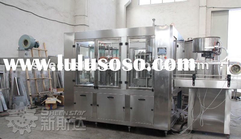 Mineral water filling equipments/plants/machine