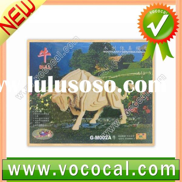 Mini Woodcraft Construction 3D Jigsaw Puzzle Toy